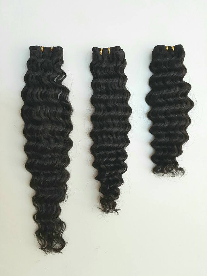 Curl hair extensions
